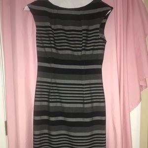 Grey striped Calvin Klein Suit dress!